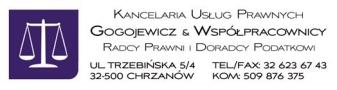Kancelaria Usług Prawnych Gogojewicz & Wspólnicy Radcy Prawni i Doradcy Podatkowi